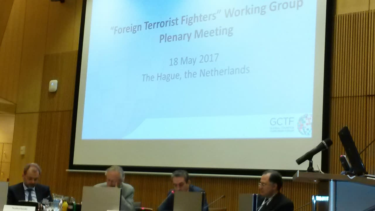 170518 GCTF working group plenary meeting