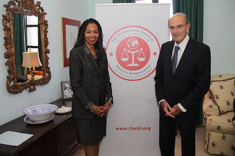 U.S. Ambassador to Malta, Gina Abercrombie-Winstanley, and Ambassador Alfred Zarb from Malta's Ministry for Foreign Affairs, gathered to express their support and celebrate the inauguration of the IIJ